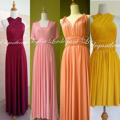 Prom Dressing Bridesmaids Dress Wedding Dress by Elegantlovers