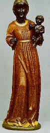 Our Lady of Einsiedeln. This statue was carved in 1466 and is commonly known as the Black Madonna.