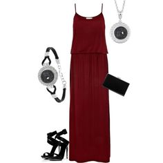 """Hematite KJPS13"" by jewelpop on Polyvore"