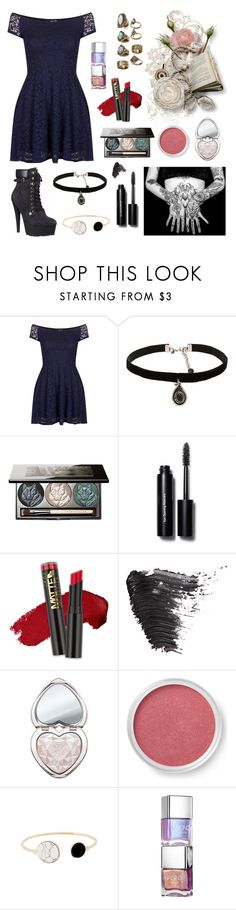 """""""Untitled #189"""" by stopcallinme ❤ liked on Polyvore featuring TFNC, River Island, ADAM, Natalie B, Chantecaille, Bobbi Brown Cosmetics, L.A. Girl, Topshop, Too Faced Cosmetics and Bare Escentuals"""