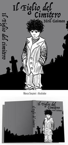 """""""il figlio del cimitero"""" Gaiman Serpieri, Neil Gaiman, Book Covers, Memes, Illustration, Books, Art, Art Background, Libros"""