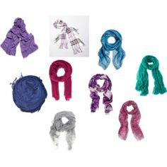 True Summer scarves.