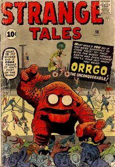 1960s Pulp Horror Comicbook