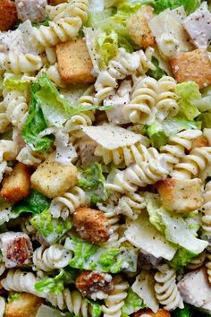 Caesar Pasta Salad Recipe Whip up a meal in-a-bowl with a refreshing recipe for Chicken Caesar Pasta Salad starring DIY dressing. - Whip up a meal in-a-bowl with a refreshing recipe for Chicken Caesar Pasta Salad starring DIY dressing. Chicken Caesar Pasta Salad, Chicken Salad Recipes, Healthy Salad Recipes, Recipe Chicken, Recipe Pasta, Lunch Recipes, Healthy Food, Beef Recipes, Dinner Healthy