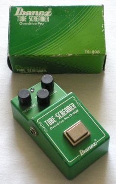 Ibanez TS-808 with it's box.