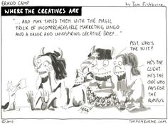 where the creatives are - Tom Fishburne    Justice - I thought of you!