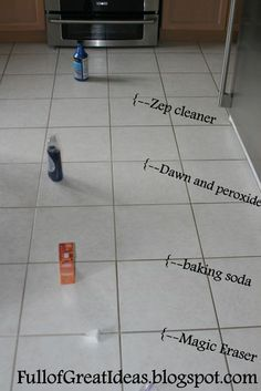 The absolute best way to clean grout - 4 methods tested, 1 clear winner