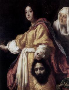 Cristofano Allori · Autoritratto come Oloferne · In Giuditta con la testa di Oloferne · 1619-20 · Galleria Palatina · Firenze