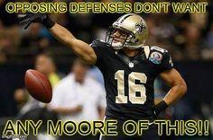 Saints Lance Moore