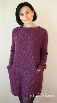 Knitted Delicacies: Sweet plum ;0)