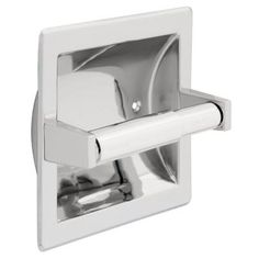 Franklin Brass Futura Recessed Toilet Paper Holder in Polished Chrome-D2497PC - The Home Depot