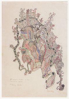 UNICA ZURN (1916-1970) | UNTITLED | U.D.