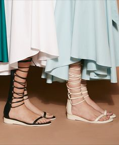 How will YOU wear Tibi's new knee-high sandal?