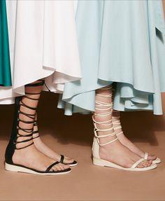 How will YOU wear Tibi's new knee-high sandal?