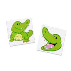 Party Destination Alligator Tattoos by BirthdayExpress. $4.00. Includes (8) tattoos.
