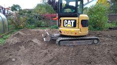 realizace zahrady - terénní úpravy