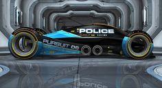 Police Autonomous Pursuit vehicle on Behance