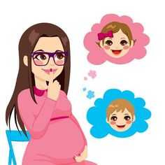 Beautiful pregnant brunette woman wonders about the sex of her future baby - Beautiful pregnant brunette woman wonders about the sex of her future baby - Baby Shawer, Baby Gender, Baby Boy Newborn, Mom And Baby, Baby Love, Pregnancy Images, Pregnancy Art, Pregnancy Scrapbook, Baby Shower Clipart