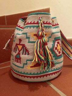 Crochet PATTERN for Mochila bag