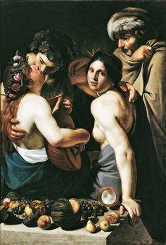 Allegory of the Four Seasons, 1610 - Bartolomeo Manfredi (Dayton Art Institute)