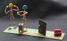 Arte Robot, Computer Build, Scrap Metal Art, Electronic Art, Circuit Board, Electronics Projects, Circuits, Plastic Bottles, Diy Art