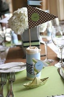 Sailboat baby shower theme. If you're feeling nautical.. http://purehoopla.com/product-details/product/255/color/5