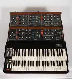 Patrick Moraz Double Minimoog Synthesizer (1973)