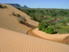 No meio do Brasil, dunas de fazer inveja a muita praia - Jalapao