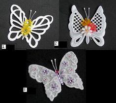 Butterflies embellishments VI by WangoArt on Etsy, $5.00
