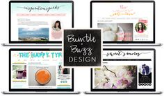 Story of My Life: Bumble & Buzz giveaway: $100 blog design credit