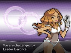 """BreX. [POP GYM Leaders]  Leader Beyoncé mains Fighting type Pokémon. She tries to show to the world the power and presence of women and how they are not the """"weak"""" gender. Her main Pokémon is a Lopunny that will mega evolve in the middle of the battle! Prove yourself resistant and win the Alliance Badge."""