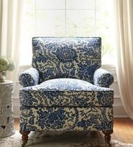 Love the classic blue & white. Love this.