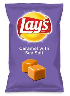Wouldn't Caramel with Sea Salt be yummy as a chip? Lay's Do Us A Flavor is back, and the search is on for the yummiest chip idea. Create one using your favorite flavors from around the country and you could win $1 million! https://www.dousaflavor.com See Rules.