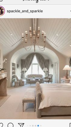 Master Dream Home Design, My Dream Home, Home Interior Design, House Design, Dream Master Bedroom, Bedroom Loft, Bedroom Decor, Modern Luxury Bedroom, Luxurious Bedrooms