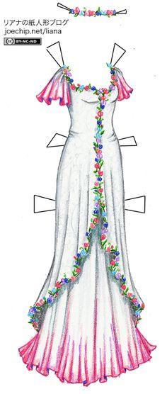 THE APRIL FOOL JOKE 4MONTH BIRTHDAY | 月のためのバースデイ・ドレス | Liana's Paper Dolls