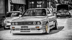 BMW E30 M3 b&w