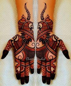 Designer mehndi creation  #mehndi #Mehandi #henna #Happyclients #Designs #gujarat #artwork #traditional #indianbride #shaadi #marrige #vapi #mumbai #bollywood #wedmegood #hennadesign #delhi #ahmedabad #punjabibride #manishmalhotra #shaadisaga #maharaniwedding #indianwedding #destinationwedding #goa #artist #art #mehandidesign #bridaldesigns #hennatattoo