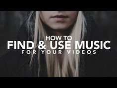 How to find Music for your Videos - YouTube