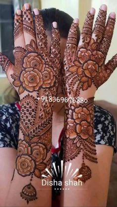 Khafif Mehndi Design, Floral Henna Designs, Mehndi Designs Feet, Back Hand Mehndi Designs, Latest Bridal Mehndi Designs, Full Hand Mehndi Designs, Stylish Mehndi Designs, Mehndi Designs 2018, Mehndi Designs For Beginners