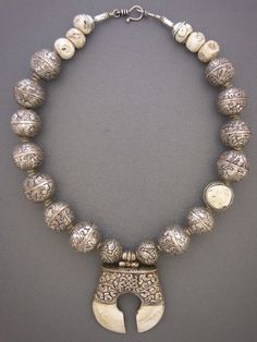 anne holland jewelry | by Anne Holland | An old sacred chank shell from the Tibet/Nepal ...