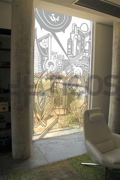 Vinilo Anunciación a María Sala Catecumenal