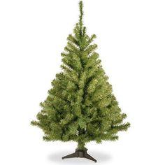 Artificial Christmas Tree 4' Decorative Xmas Trees Holiday Decoration Ornaments  #NationalTree