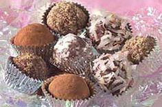 Trufas de chocolate para el Día de San Valentín