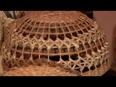 Плетёный абажур своими руками. Автор Елена Тищенко. - YouTube
