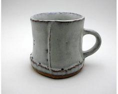 Slab construction Mug, Hagi, Japan