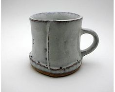 Slab construction Mug, Hagi, Japan
