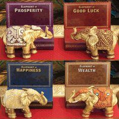 Decorative Mini Elephant Favors (Set of 4)