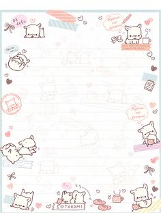 San-X Koinu No Toromi Letter Set by Crazy Sugarbunny, via Flickr