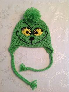 Grinch hat (nb-child $15, teen-adult $20)