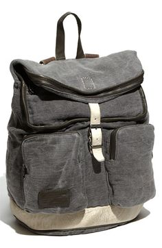 MARC BY MARC JACOBS Washed Canvas #Backpack